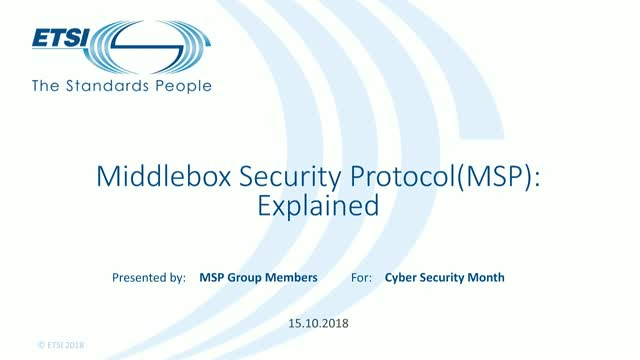 Middlebox Security Protocol explained