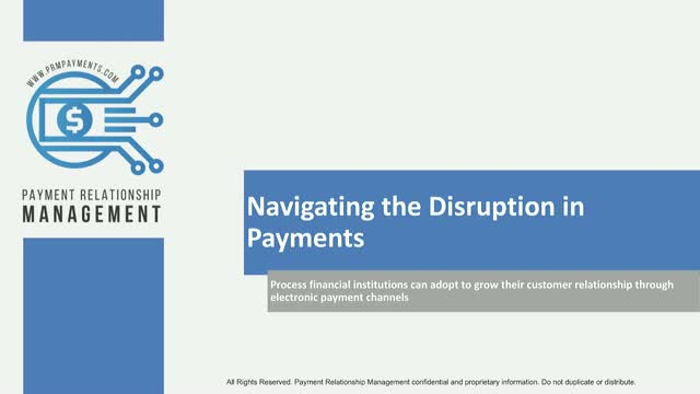 How to Navigate the Disruption in Payments