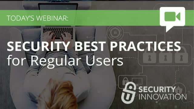 Security Best Practices for Regular Users