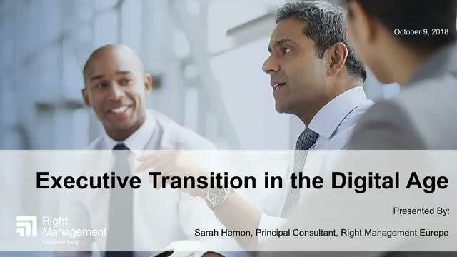 Executive Transition in the Digital Age