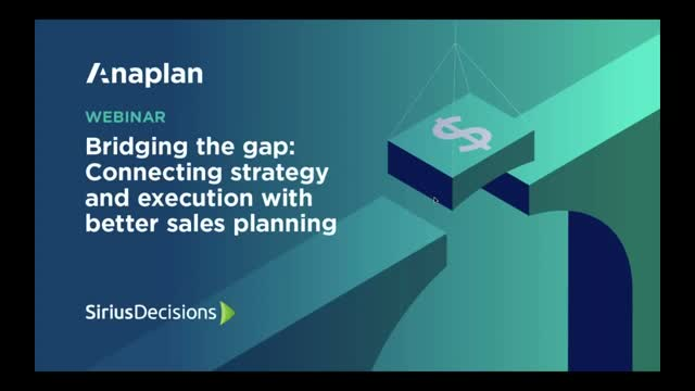 Bridging the Gap: Connecting Strategy & Execution Through Better Sales Planning