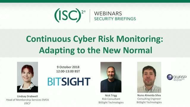 Cybersecurity Ratings Part 1: Cyber Risk Monitoring: Adapting to the New Normal