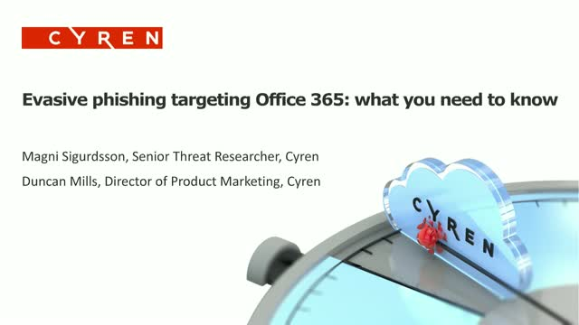 Evasive Phishing Targeting Office 365: What You Need to Know