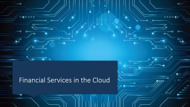 Financial Services in the Cloud