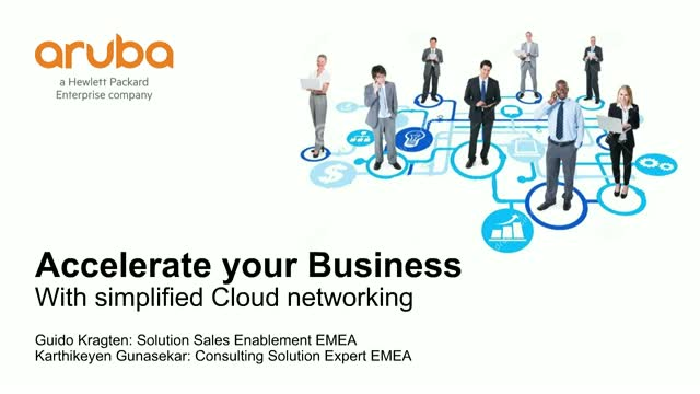 Accelerate your Business with Simplified Cloud Networking