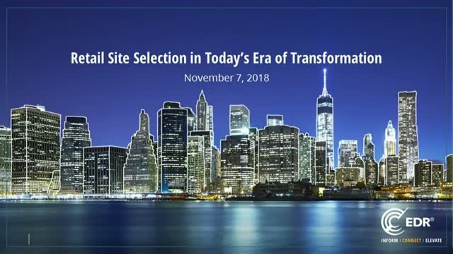 Retail Site Selection in Today's Era of Transformation