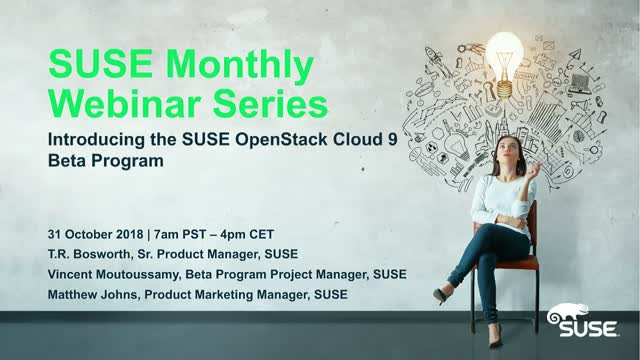 An Introduction to the SUSE OpenStack Cloud 9 Beta Program