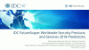 IDC FutureScape: Worldwide Security Products & Services 2018 Predictions