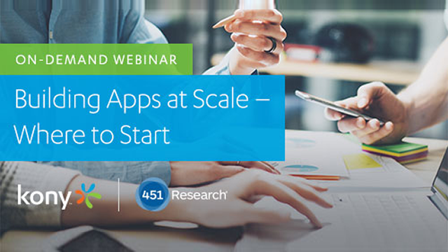 Building Apps at Scale – Where to Start