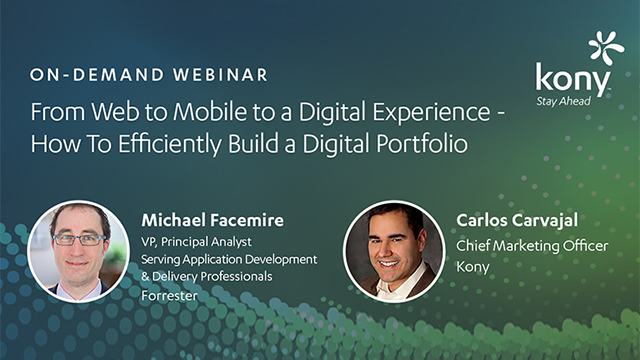 From Web to Mobile to a Digital Experience