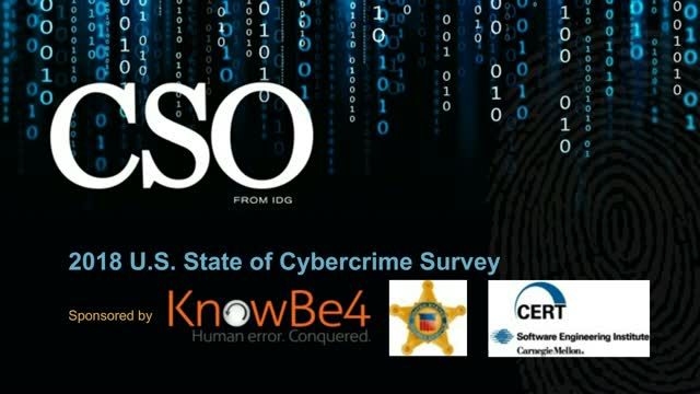 Exclusive Look: CSO's 2018 US State of Cybercrime Survey