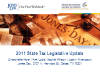 Jones Day 2011 State Tax Legislative Update