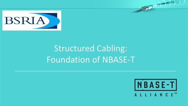 Structured Cabling: The Foundation of NBASE-T