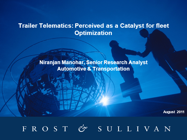 Trailer Telematics: Perceived as a Catalyst for Fleet Optimization