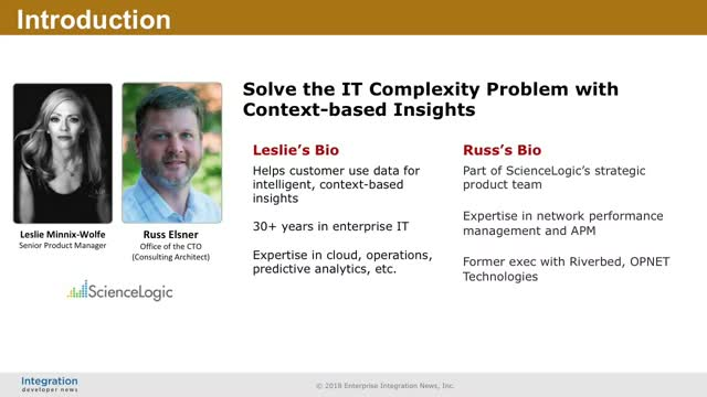 Solve the IT Complexity Problem with Context-based Insights