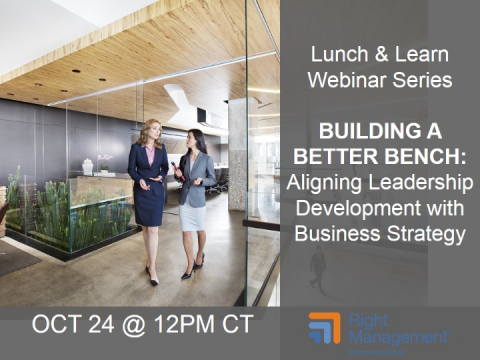 Building a Better Bench: Aligning Leadership Development with Business Strategy
