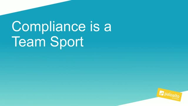 Compliance is a Team Sport