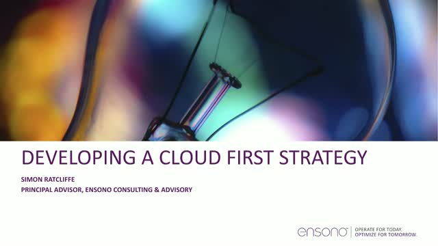 How to Develop a Cloud-First Strategy with a Cloud-Native Approach
