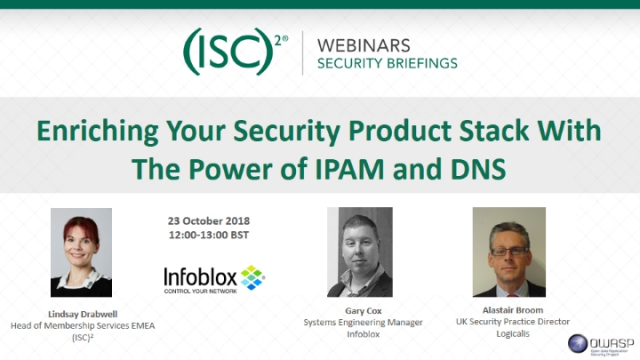 Enriching Your Security Product Stack With The Power of IPAM and DNS