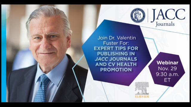 Expert Tips for Publishing in JACC Journals and Cardiovascular Health Promotion