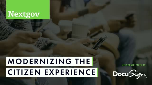 Modernizing the Citizen Experience