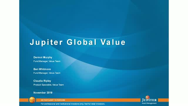 Jupiter Asset Management: Jupiter Global Value Strategy - November 2018