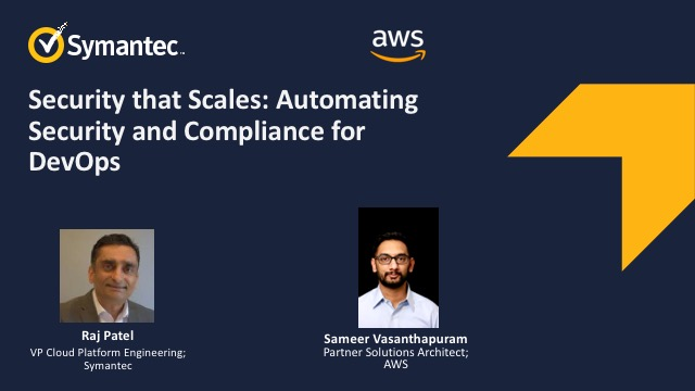 Security that Scales: Automating Security and Compliance for DevOps