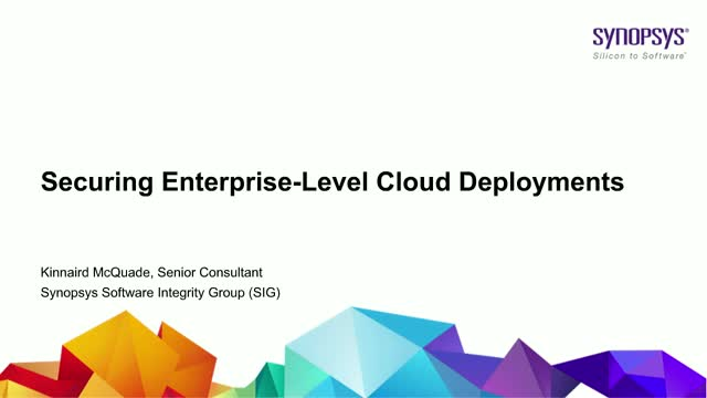 Securing Enterprise-Level Cloud Deployments