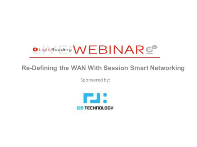 Re-defining the WAN with Session Smart Networking