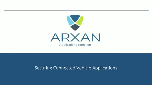 Securing Connected Vehicle Applications