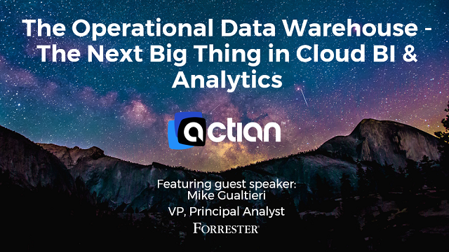 The Operational Data Warehouse - The Next Big Thing in Cloud BI & Analytics