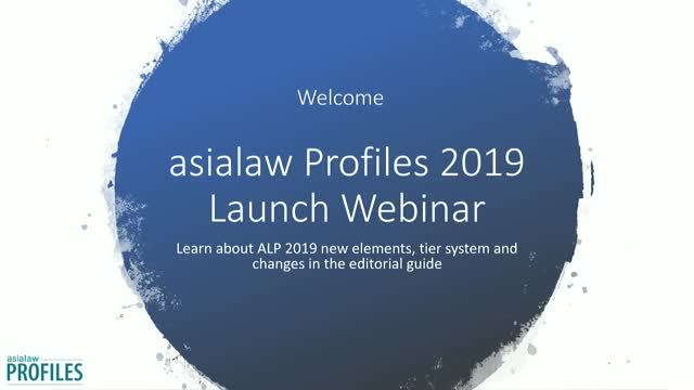 asialaw Profiles 2019 Results Webinar