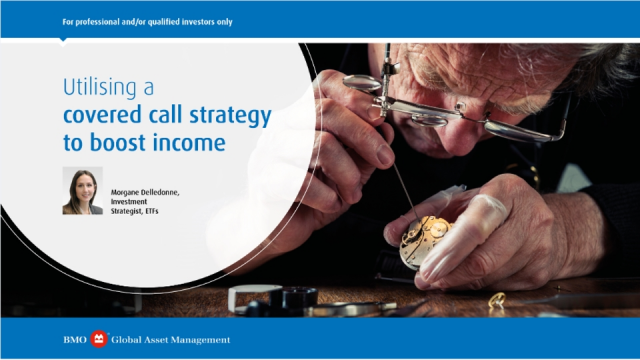 Utilising a covered call strategy to boost income