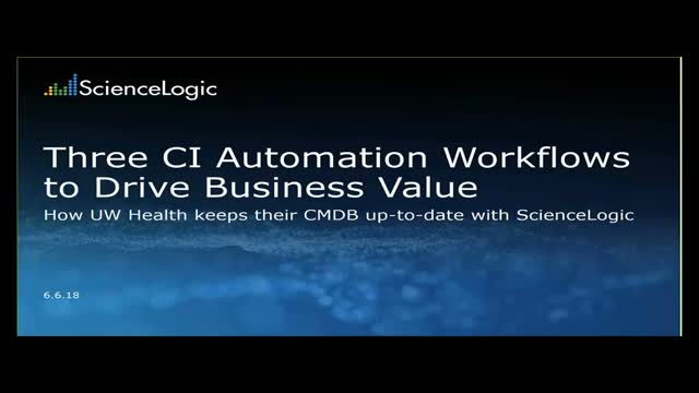 Three CI Automation Workflows to Drive Business Value