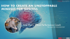 How to create an unstoppable mindset for success