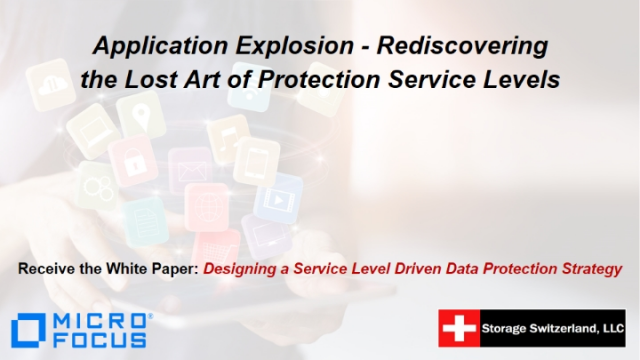 Application Explosion - Rediscovering the Lost Art of Protection Service Levels