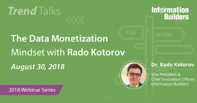 Trend Talks: The Data Monetization Mindset