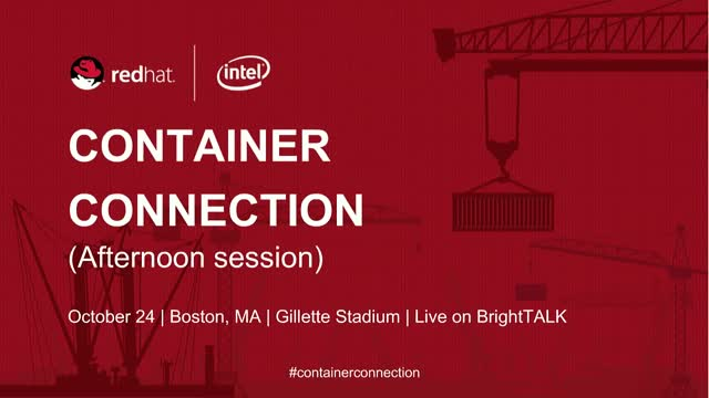 Container Connection Live! Afternoon Sessions