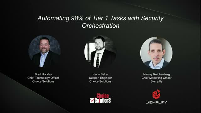 Automating 98% of Tier 1 Tasks with Security Orchestration