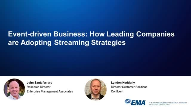 Event-driven Business: How Leading Companies Are Adopting Streaming Strategies