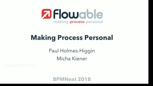 Making Process Personal