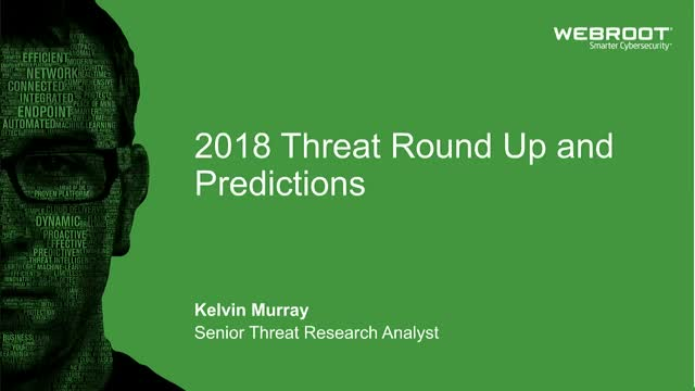 Webroot 2019 Threat predictions
