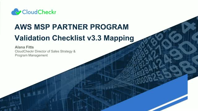How MSPs Can Meet the AWS MSP Validation Checklist v3.3 and Grow Their Business