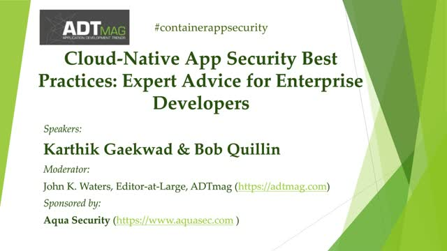 Cloud-Native Application Security Best Practices Expert Advice for Developers