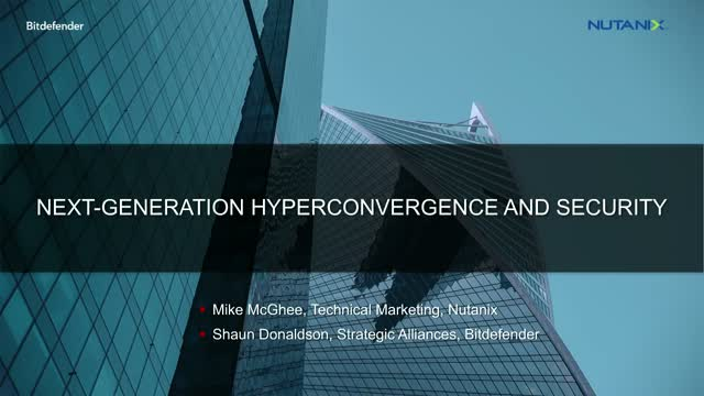 The State of Hyperconverged Infrastructure in the Evolving Threat Landscape