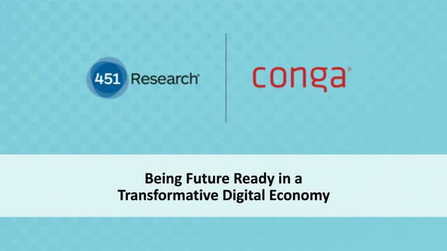 Being Future Ready in a Trasformative Digital Economy