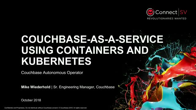 NoSQL As-A-Service in the Cloud Using Containers and Kubernetes