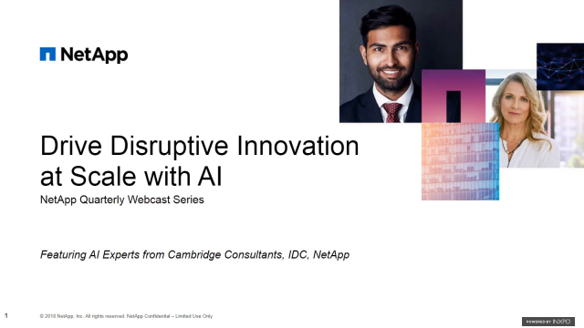 Drive Disruptive Innovation at Scale with AI