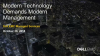 Dell EMC: Modern Technology Demands Modern Management