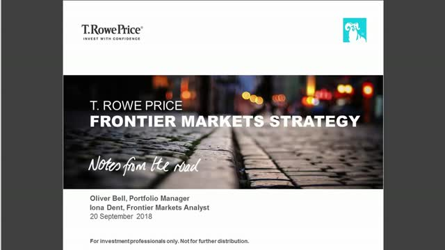 What Lies Ahead for Frontier Markets?